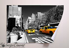 NEW YORK TAXI GIANT WALL ART POSTER A0 A1 A2