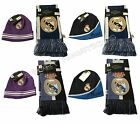 Real Madrid Set Scarf Reversible and Beanie Skull Cap Hat Cristiano Ronaldo 7