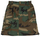 Dark Green Camo Skirt Knee Length S-M-L-XL By ROTHCO NWT