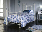 Mats Ivory Bed Frame - Available in 3'0 & 4'6 - Bedroom Furniture
