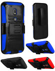 For Motorala Moto G Play Droid G4 Play E3 E 2016 Side Stand Holster Cover Case