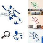 Removable Wall Stickers Football Soccer Player Vinyl Art Decals Stickers Decor
