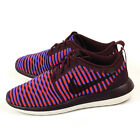Nike W Roshe Two Flyknit Deep Burgundy/Black-White Running Shoes 2016 844929-601