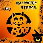 Cat Halloween Mylar Painting Pumpkin Wall Art Stencil five