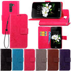 Fashion Flip Pattern Hybrid Stand PU Leather Cover TPU Case Wallet For Phone SYc