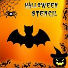 Bat Halloween Mylar Painting Pumpkin Wall Art Stencil six