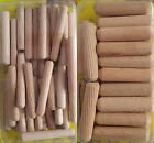 New 2 sizes 6mm/10mm Wolfcraft wood Dowel pins gaps, joints UK Stock