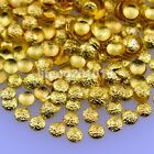 500PCS frosted round gold silver metal 3d nail art decorations studs accessoires