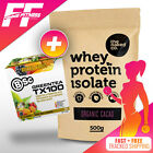 PREMIUM WHEY PROTEIN ISOLATE by The Naked Co. 500g WPI (Natural) + FREE BSC Tea
