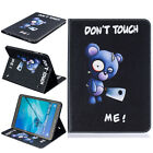 PU Leather Stand Folio Card Pouch Flip Case Cover Skin For Samsung Galaxy Tablet
