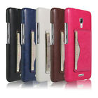 For Huawei Ascend Mate 2 Slot Leather Case Back Protective Case Cover,5 Colors