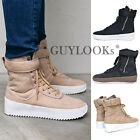 Military Faux Leather PU Mens Fashion Desert High Top Sneakers Shoes By Guylook
