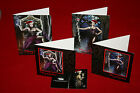 GOTHIC CHRISTMAS CARDS / GIFT TAGS Black Goth Alternative Metal Emo 10/12 Packs