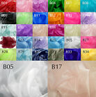 Bxx Thick Sparkle Crystal Organza Sheer Fabric Bridal dress Decorative Material