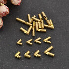 1/10Pcs Brass Hidden Invisible Concealed Hinge DIY Jewelry Box Hand Craft Gold