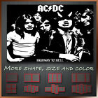 AC DC Music Band Artist Art Canvas Box More Color & Style & Size !!