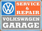 VW Service & Repair sign. Great gift for a VW enthusiast. Garage, Mancaves etc