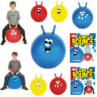 """20"""" & 24"""" JUMP N BOUNCE HAPPY SPACE HOPPER BALL KIDS CHILDRENS OUTDOOR TOY GAME"""
