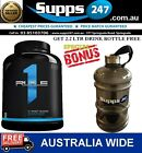 RULE ONE R1 PROTEIN BLEND WPC-WPI ISOLATE 2LBS PROTEIN POWDER / gold standard