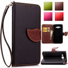 Fashion Flip Leather Wallet Card Stand Cover Case For Samsung Galaxy J1 J3 J5 J7