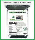 100% All Natural Grown Organiclly PREMIUM RAW Black Sesame Seeds,8 oz-50 LBS