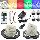 5M 10M Led Light Strip Waterproof 5630 SMD Lamp /11 keys Remote/3A power+DC