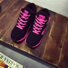 Fashion Lace-Up Student Athletic Sneaker Suede Casual Women Sports Running Shoes