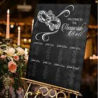 LUXURY Personalised Wedding Table Plan  A1 / A2 / A3 / A0 / MASQUERADE BALL