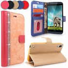 For HTC Desire 530 Case New Luxury PU Leather Flip Wallet Card Slots Stand Cover