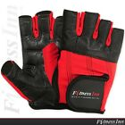 New Weight Lifting Gloves Gym Fitness Body Building Training Straps Size M,L,XL