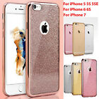 For Apple Iphone 5 6 7 Se New Bling Glitter Sparkly Soft Gel Iphone Case Covers