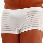 L'HOMME INVISIBLE Boxer  MY20 Seamless Blanc weiß M - XL