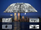 Unique Art  London Building Dome Bubble Clear Rain Umbrella Transparent Folding