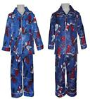 Boys Spiderman Blue 2 Pc Pyjamas BNWT Sz 2,3,4,5,6,7