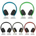 Universal Wired /Wireless Bluetooth Foldable Overhead Headset Headphone Earphone