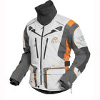 New 2017 Rukka Orivesi Motorcycle Jacket White/Orange