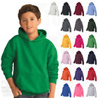 Внешний вид - Gildan Youth Heavy Blend Hooded Hoodie Fleece Pullover Sweatshirt S-XL - 18500B