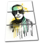 DJ Snake Grunge Urban Graffiti Musical TREBLE CANVAS WALL ART Picture Print