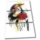 Ellie Goulding Grunge Urban Musical TREBLE CANVAS WALL ART Picture Print