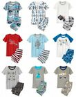NWT Gymboree Boys Pajamas Shorties Robots Sharks Many Sizes