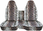 CC 91 -015 ford ranger car seat covers front+ center console cover Zebra-tiger-L