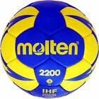 Molten Handball Trainingsball Soft Training Ball Größe 0 1 2 3 Blau/Gelb