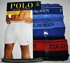POLO Ralph Lauren KNIT BOXERS Mens Underwear 3 PACK Gray White Black S M L XL