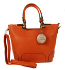 New Hot Womens Ladies Fashion Designer Faux Leather Tote Shoulder Bags Handbags