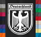 Germany DEUTSCHLAND T-Shirt 100% Ringspun Eagle Flag Soccer Football Jersey Tee