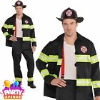 Sexy Rescue Me Firefighter Adults Fancy Dress Stag Brigade Uniform Costumes