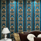 3D Velvet Classic Home Decor Background Wall Damask for Living Room