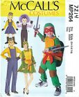 McCall's 264 / 7214 Family Unisex Costumes    Sewing Pattern