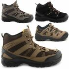 NEW MENS CASUAL LACE UP HIKING TRAIL TREKKING WALKING WORK BOOTS UK SIZE 7-12
