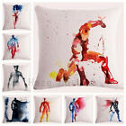 marvel comic cushions - Decorative Throw Pillow Case Watercolor Marvel Superhero Comic Cushion Cover 18
